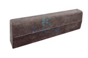 Камень бордюрный коричневый монолитные железобетонные обоймы фундаментов